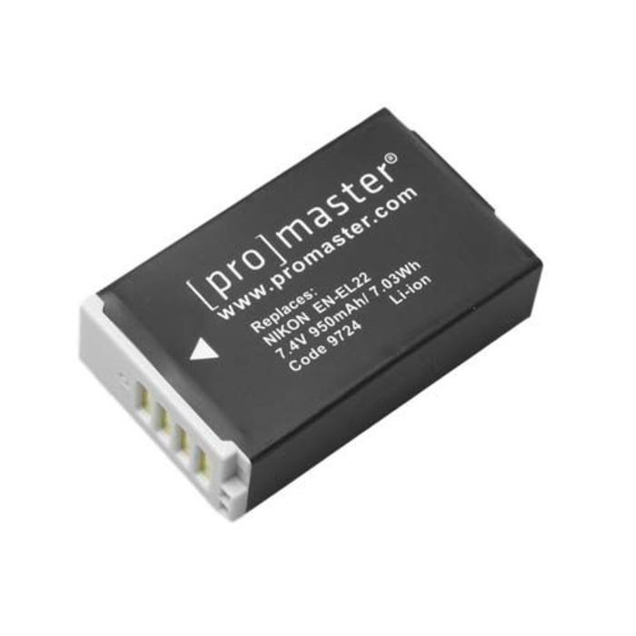 ProMaster EN-EL22 Battery - Nikon 1 J4, Nikon 1 S2