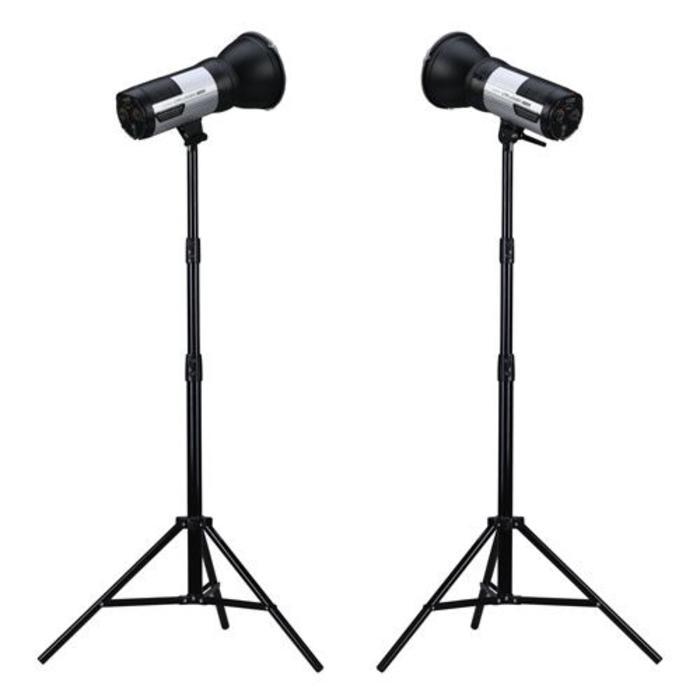 ProMaster Unplugged Strobe M400 2-Light Kit