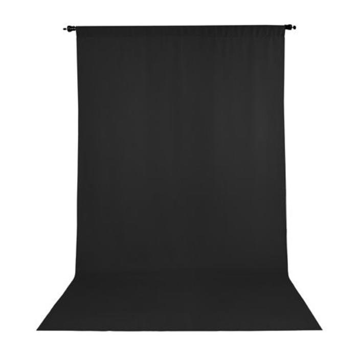 ProMaster 6x10 Background - Solid Black