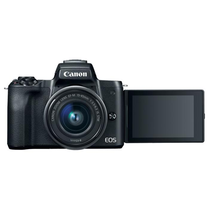 Canon EOS M50 w/ EFM 15-45mm IS STM (Black)