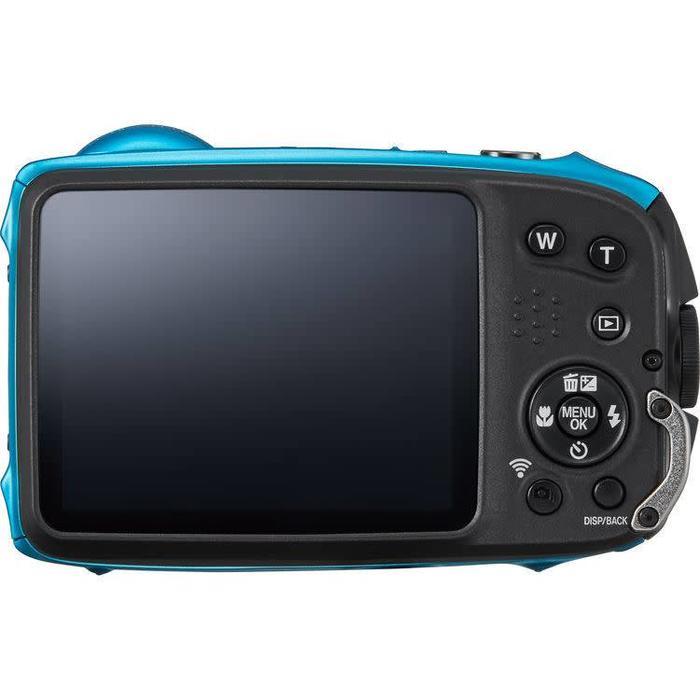 Fuji FinePix XP130 - Sky Blue with 16GB SD Card