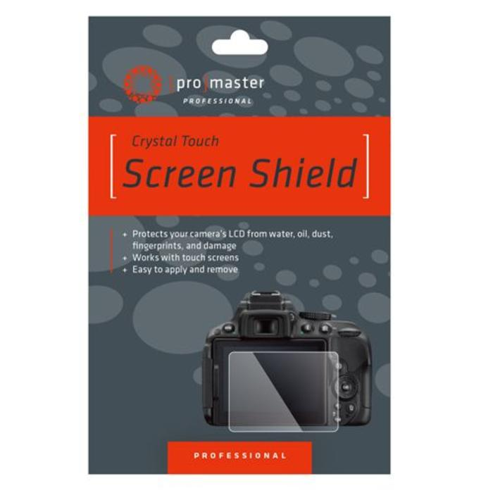 ProMaster Crystal Touch Screen Shield - Canon 6DMKII, 80D, 70D