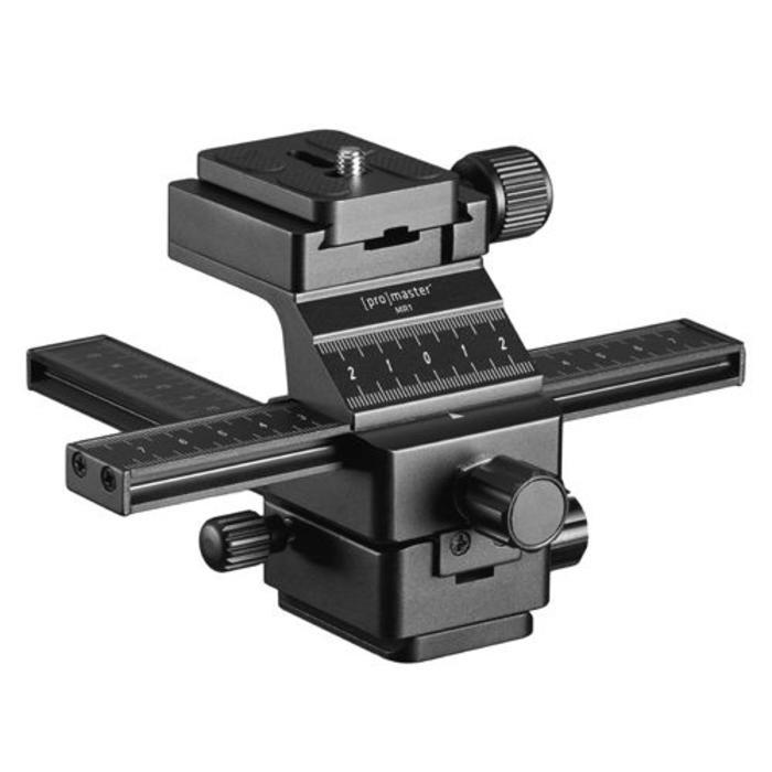 , amazonProMaster MR-1 Macro Focusing Rail w/QR Plate