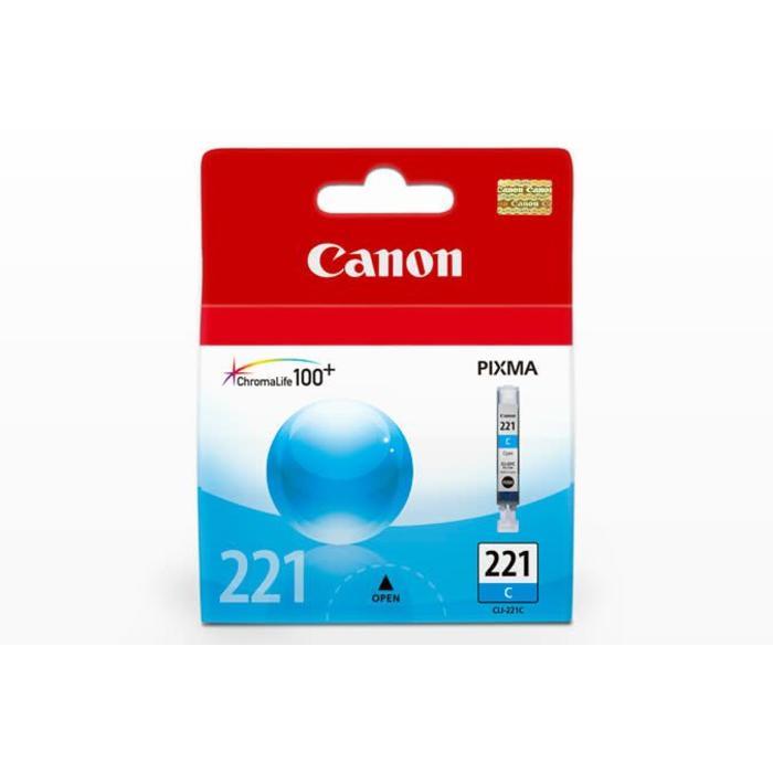 Canon CLI 221 Cyan Ink