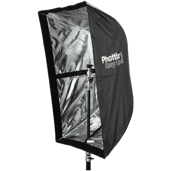 "Phottix Easy Up HD Umbrella Octa Softbox w/Grid (60x90cm/24x35"") & Varos PRO S Kit"