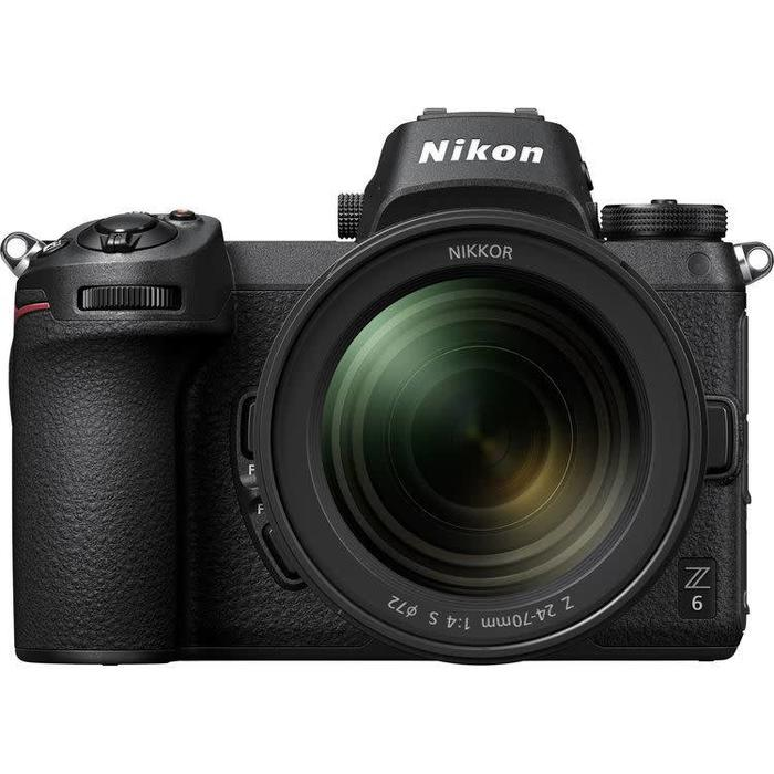 Nikon Z6 Mirrorless Digital Camera with 24-70mm f/4