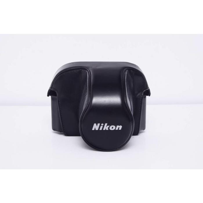 Nikon CH-4 Leather Hard Case for Nikon F2/F2a