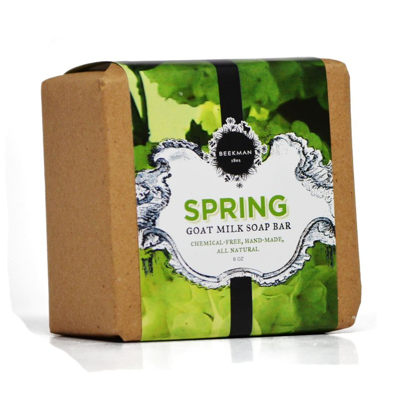 Beekman 1802 Scent of Spring Pure Goat Milk Bar Soap