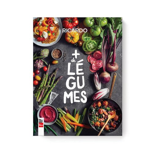 <i>Plus de légumes</i> Book (French Version)