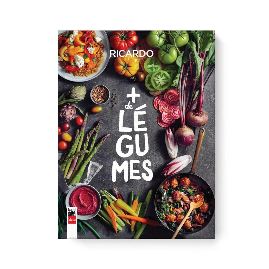 <i>Plus de légumes</i> Book (French Version) - Photo 0