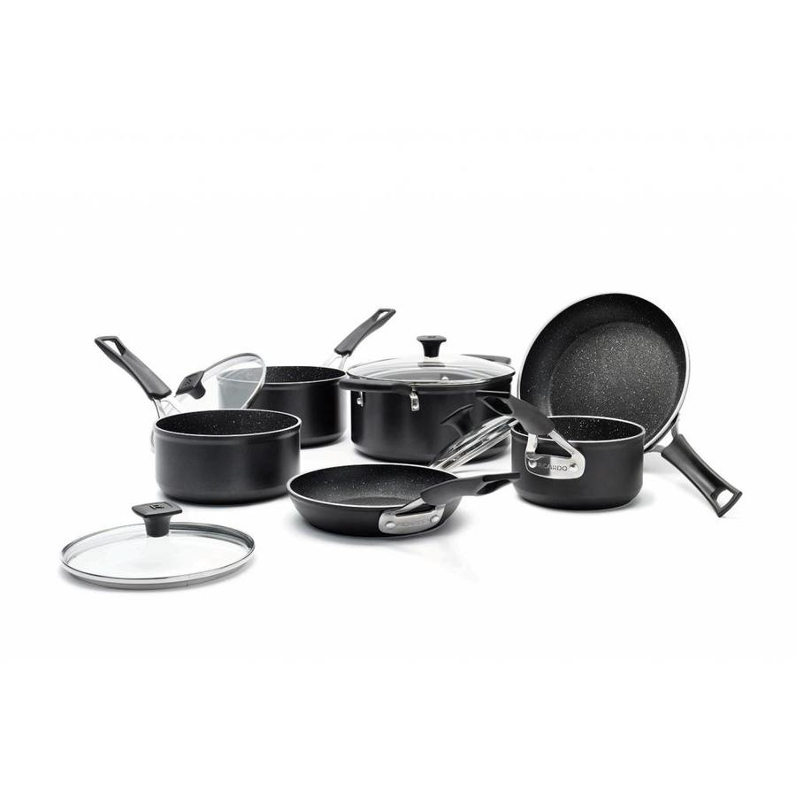 "RICARDO ""The Rock"" 10-Piece Non-stick Aluminum Forged Cookware Set - Photo 0"