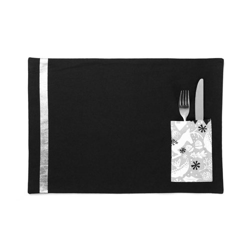Urban Wonderland Placemats with Utensil Pouch