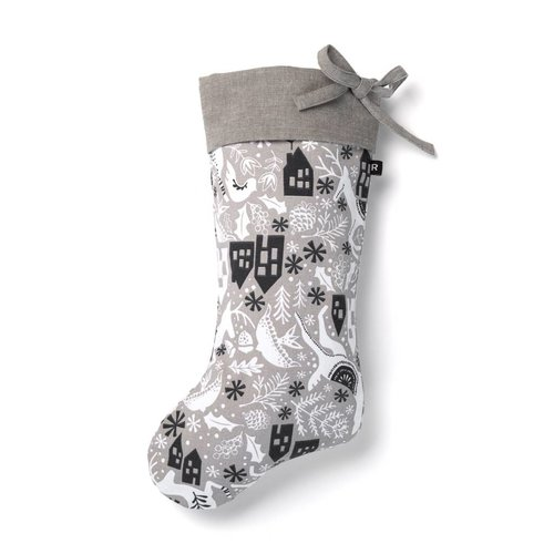 Urban Wonderland Christmas Stocking