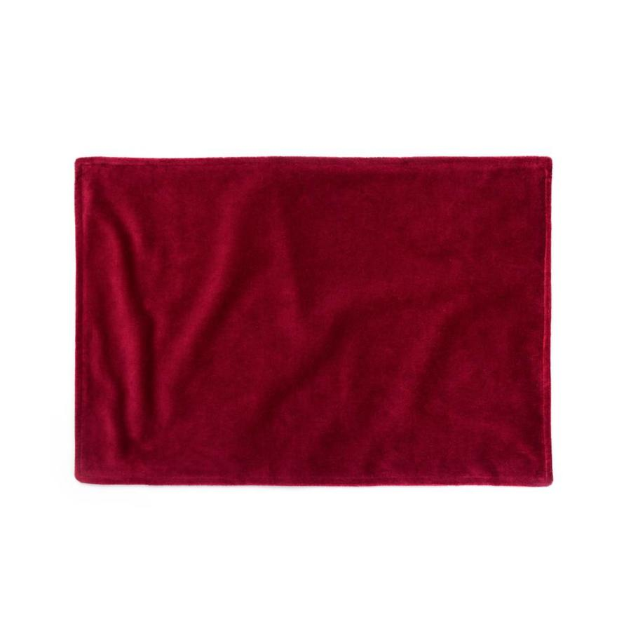 Red Velour Placemats - Photo 0