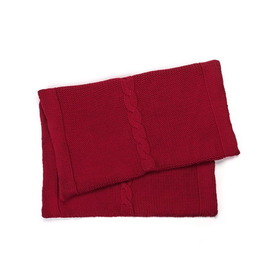 Red Knit Table Runner - Photo 1