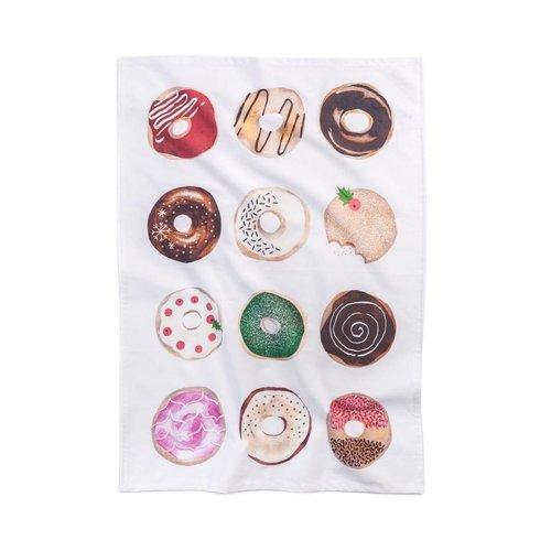 Doughnuts Tea Towel