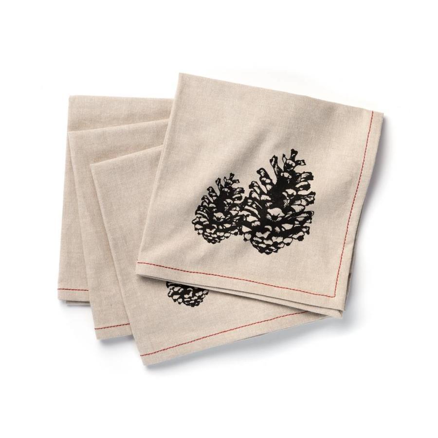 Serviettes de table à motifs de cocottes - Photo 0