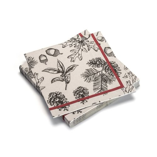 Winter Woods Paper Napkins