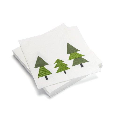 Serviettes de table en papier «Mon beau sapin»
