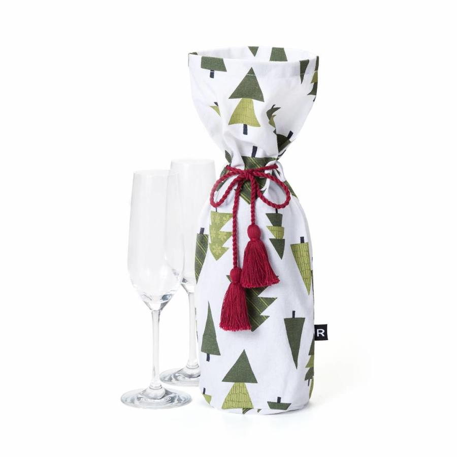 Christmas Tree Wine Bag - Photo 0