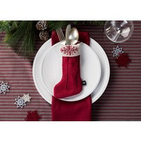 Christmas Mini-Stocking Utensil Pouches