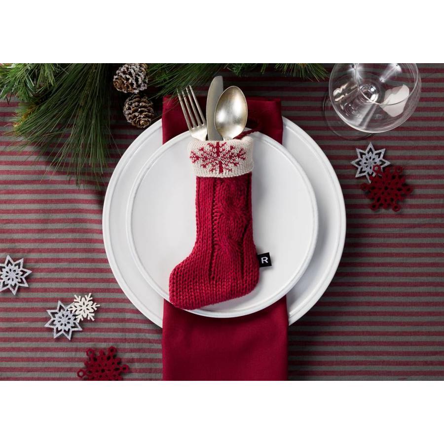 Pochettes à ustensiles « Mini-bas de Noël » - Photo 1