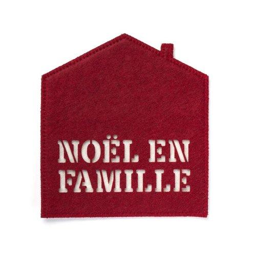 <i>Noël en famille</i> Pot Holder