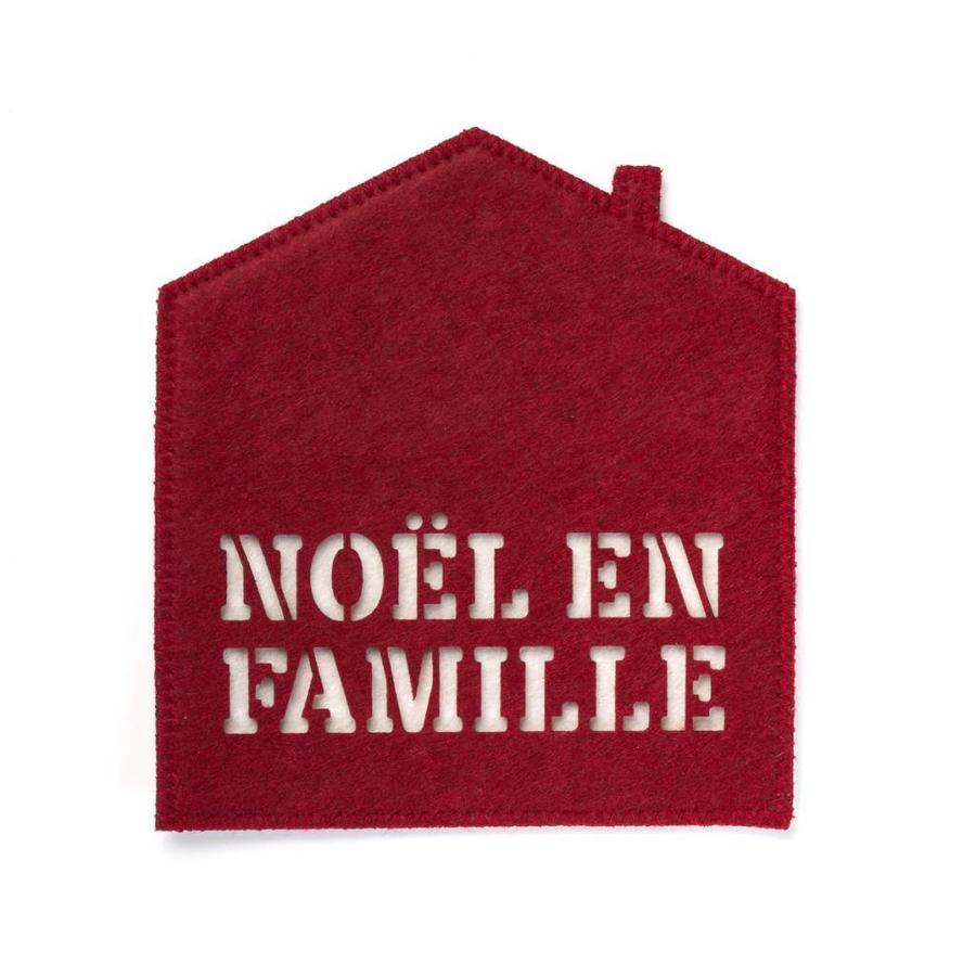 <i>Noël en famille</i> Pot Holder - Photo 0