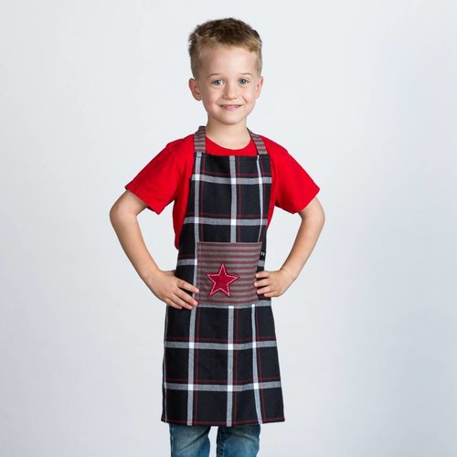 Children's Checkered Apron