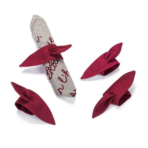 Red Napkin Ties