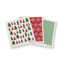 Festive Forest Fantastic Dishcloths