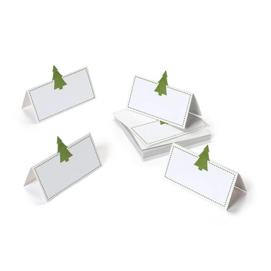 Marque-places à petit sapin vert - Photo 0