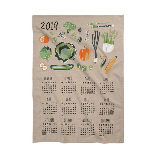 Calendar Tea Towel