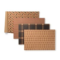 Paper Holiday Placemats in Various Patterns