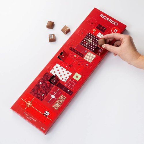 Edible Advent Calender
