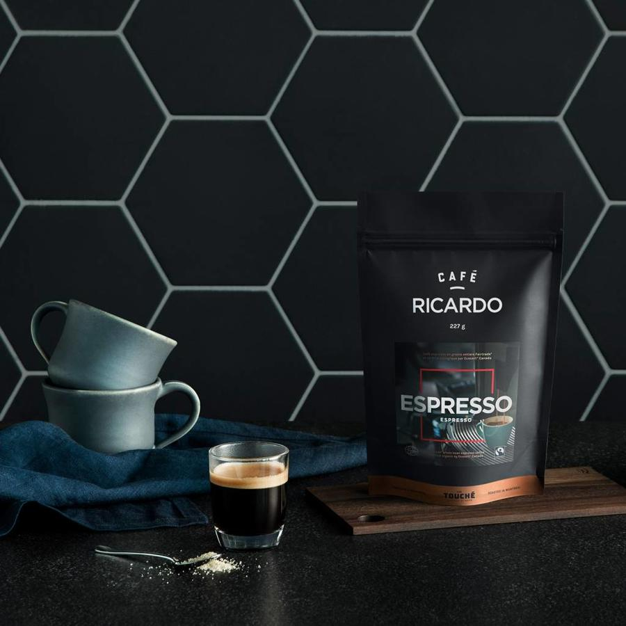 Sac de café espresso RICARDO de 227 g - Photo 1