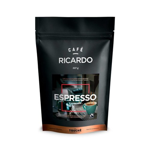 Bag of RICARDO Espresso Coffee, 227 g