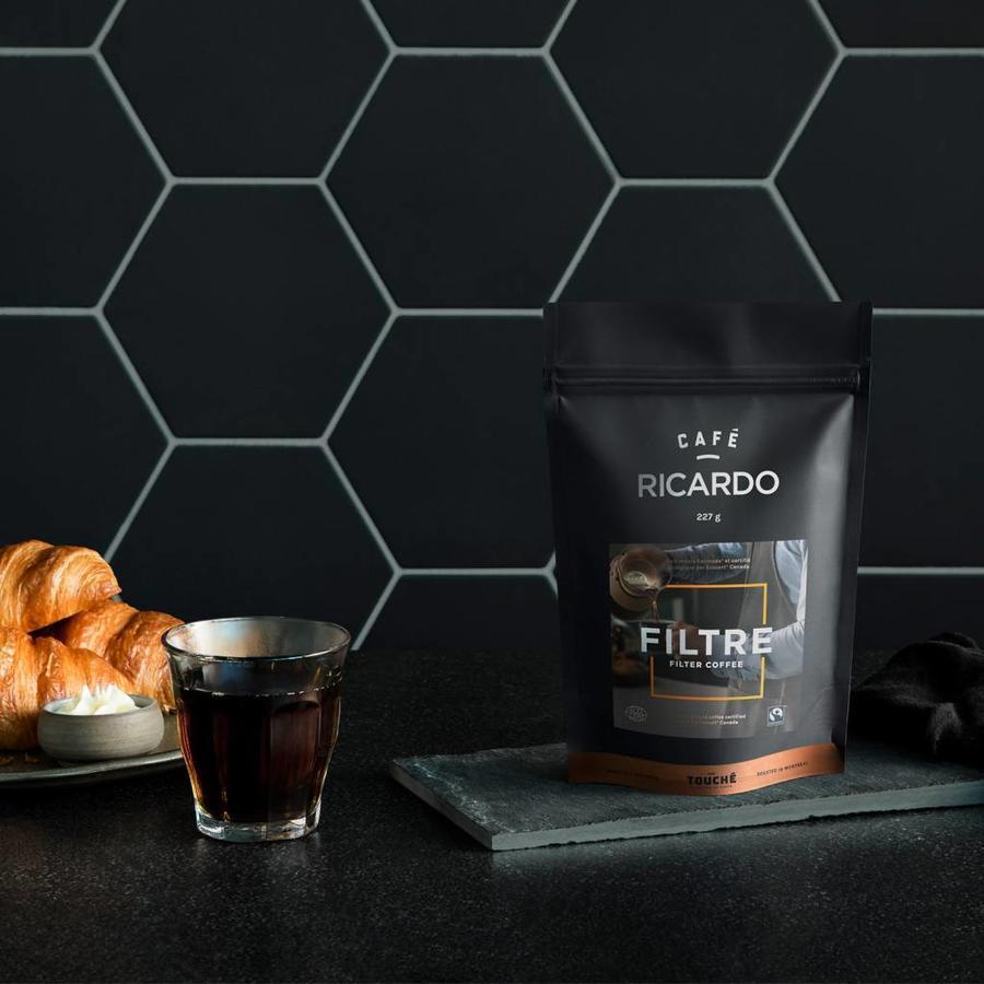 Sac de café filtre prémoulu RICARDO de 227 g - Photo 1
