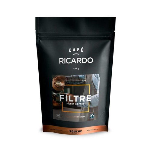 Bag of RICARDO Ground Filter Coffee