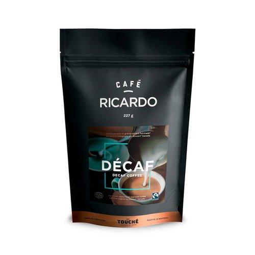 Sac de café décaféiné en grain RICARDO de 227 g