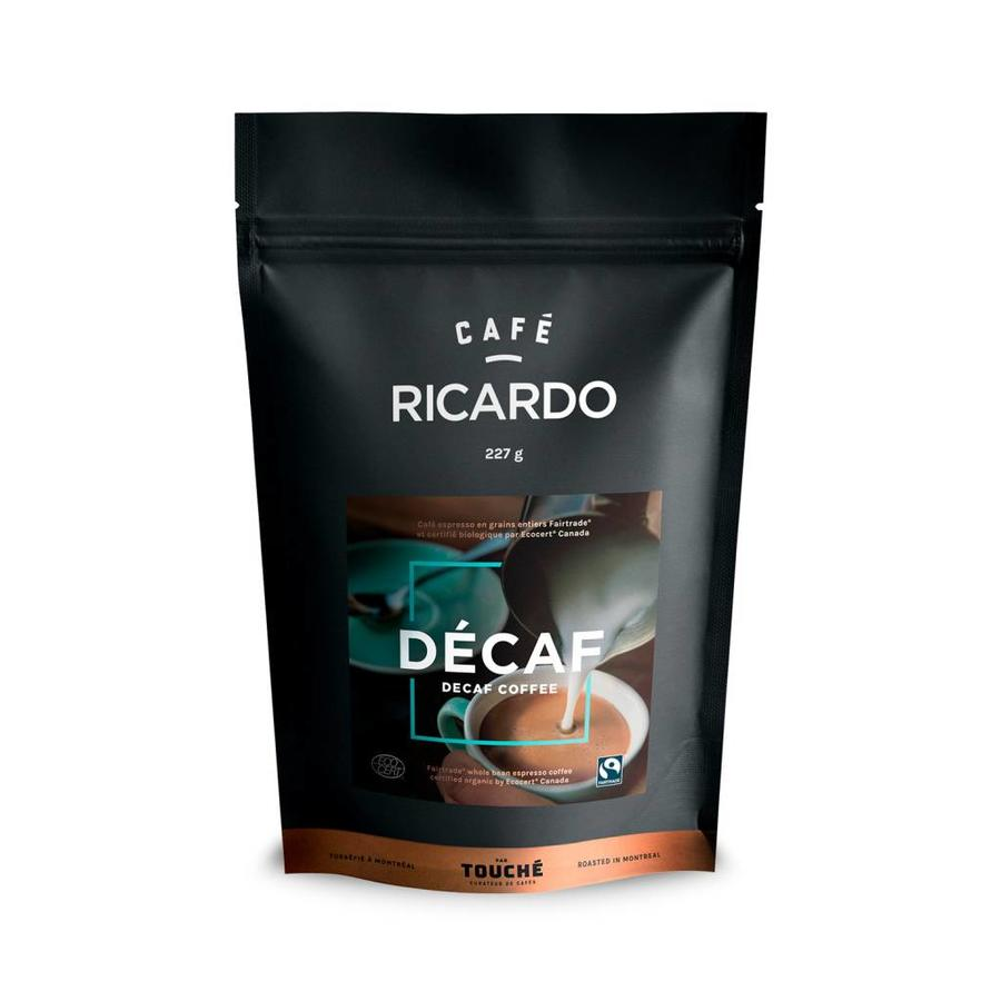 Bag of RICARDO Decaffeinated Ground Coffee, 227 g - Photo 0