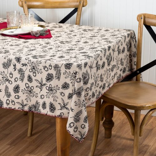 Nappe « Feuillage et sapinage »