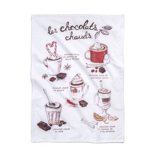 Hot Chocolate Tea Towel