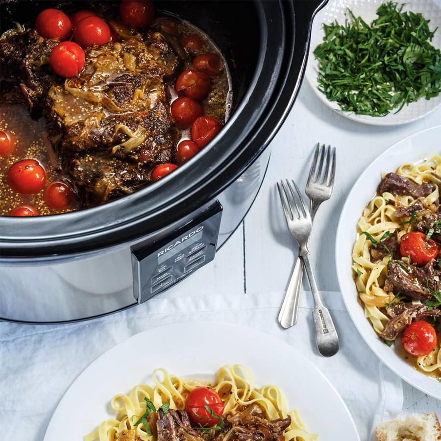RICARDO Digital Slow Cooker, 6 qt (5.4 L) - Photo 4
