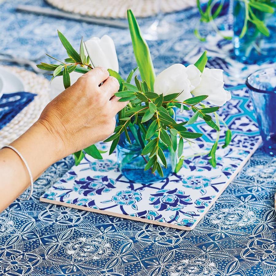 """Tablecloth """"Mediterranean Ceramics"""" - Photo 2"""
