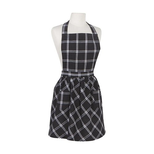 Black Checkered Apron