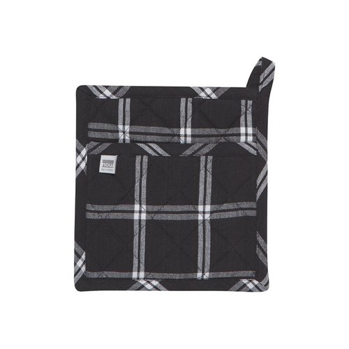 Black Checkered Pot Holders