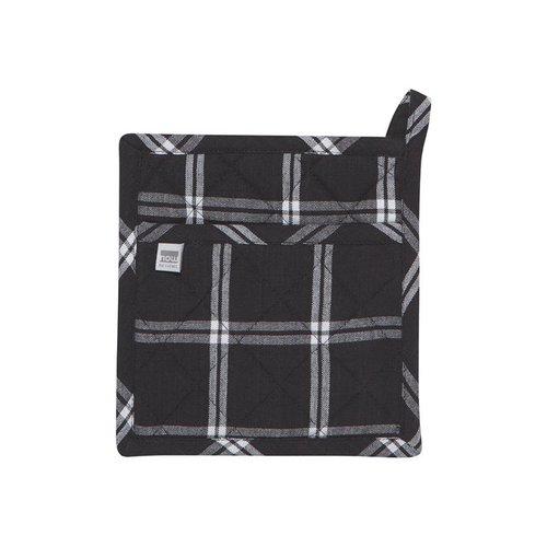 Black Checkered Pot Holders