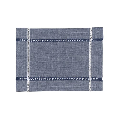 Denim-Look Woven Placemats