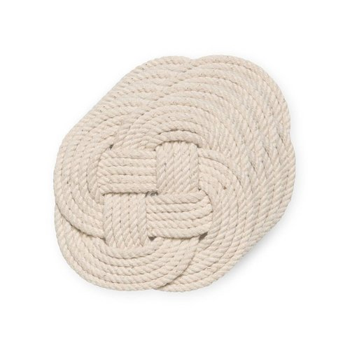 Set of Cotton Rope Coasters